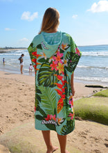 Load image into Gallery viewer, Tropical Hooded Towel
