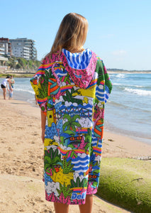 Mulga Colour Hooded Towel