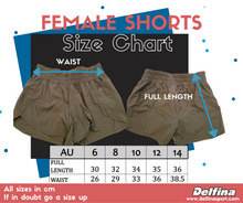 Load image into Gallery viewer, Barracudas Female Shorts