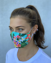 Load image into Gallery viewer, Tropical Washable Face Mask