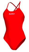 Load image into Gallery viewer, Red One Piece Swimsuit Australia