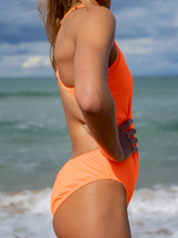 Load image into Gallery viewer, Orange One-piece Bathing Suit