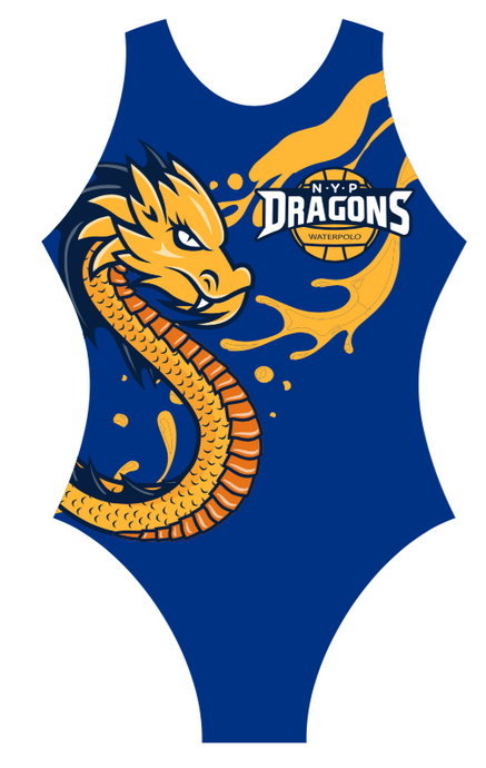 NYP Dragons Waterpolo Suit - Blue