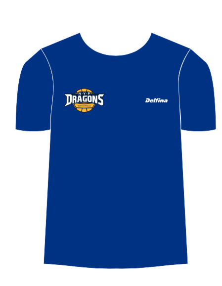 NYP Dragons Club T-Shirt - Blue