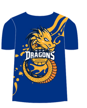Load image into Gallery viewer, NYP Dragons Club T-Shirt - Blue
