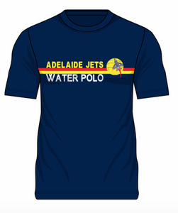 Adelaide Jets Club Cotton Tee - Navy