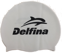 Load image into Gallery viewer, Delfina Block Silicone Swim Cap