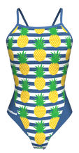 Load image into Gallery viewer, Pineapple Tie Back Swimming