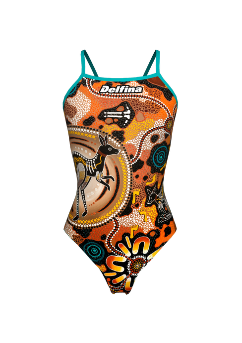 Chernee Sutton Brown Lightback Swimming