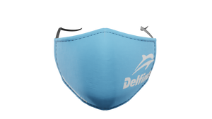 Delfina Blue Washable Face Mask