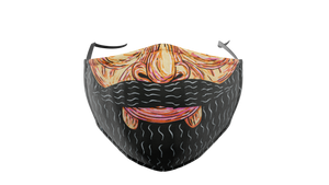 Mulga Beard Washable Face Mask