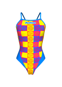 Pop Art Polo Lightback Swimming