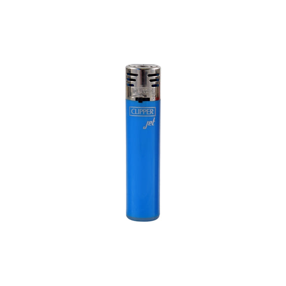 Clipper Jet Flame Solid Colors Refillable Lighter
