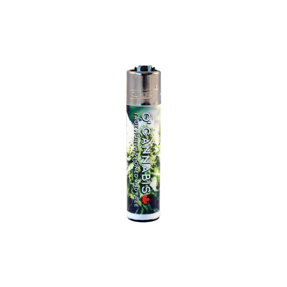 Clipper O'Cannabis Edition Refillable Lighter