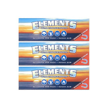Load image into Gallery viewer, Elements Rolling Paper Multi Pack Leaf Butler