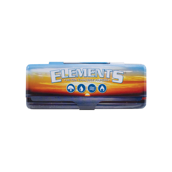 Elements 1¼ Rolling Paper Metal Case