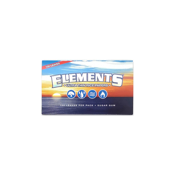 Elements Single Wide Rolling Paper Leaf Butler