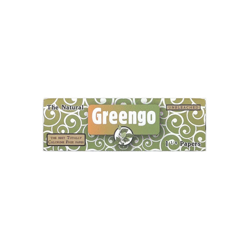 Greengo Unbleached Rolling Paper One and One Quarter