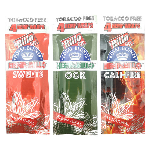 Royal Blunts Natural Hemp Wraps - Special Variety