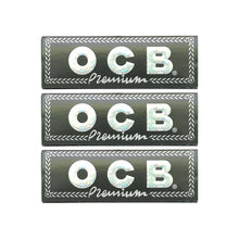 Load image into Gallery viewer, OCB Black Premium Rolling Paper Multi Pack Leaf Butler