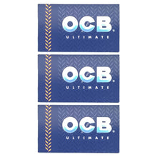 Load image into Gallery viewer, OCB Ultimate Rolling Paper Single Wide Multi Pack Butler