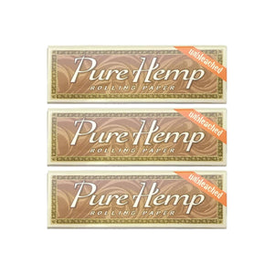 Pure Hemp Rolling Paper Multi Pack Leaf Butler