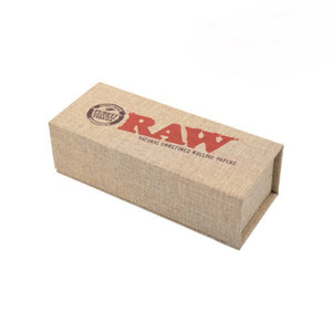 Raw Gold Poker Closed Box Leaf Butler