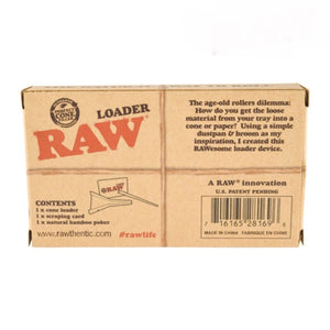 Raw Loader Box Leaf Butler
