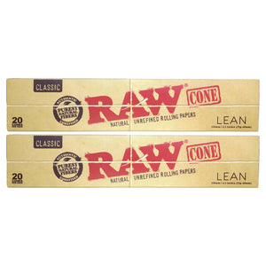Raw Classic Lean Cones - 20/Box