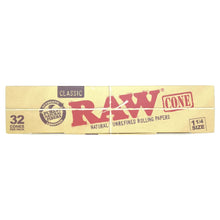 Load image into Gallery viewer, RAW Classic 1¼ Cones - 32/Box