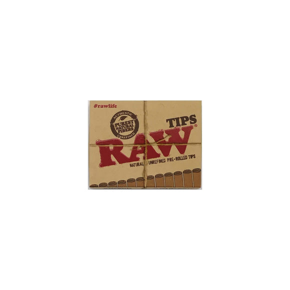 Raw Pre Rolled Tips Filters Leaf Butler