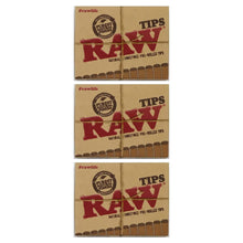Load image into Gallery viewer, Raw Pre + Rolled Tips 3 Pack Leaf Butler