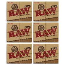 Load image into Gallery viewer, Raw Pre Rolled Tips 6 Pack Leaf Butler