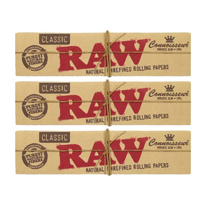 RAW Classic Connoisseur King Size Slim+ Tips