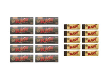 Load image into Gallery viewer, Raw Black Cult Kit Rolling Papers - Leaf Butler