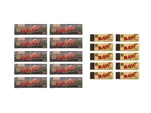 Raw Black Cult Kit Rolling Papers - Leaf Butler