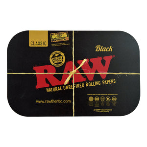 RAW Black Rolling Tray Magnetic Cover - Small