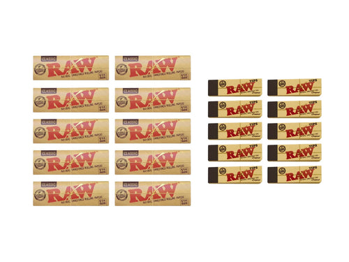 Raw Classic  Cult Kit Rolling Papers - Leaf Butler