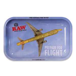 RAW Flying High Metal Rolling Tray - Small