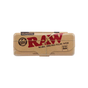 RAW 1¼ Rolling Paper Metal Case