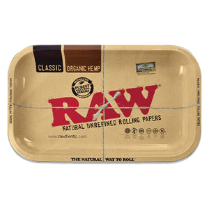 RAW Metal Rolling Tray - Small