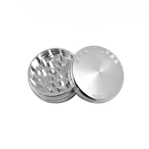 "Aluminum Space Case Grinder Medium 2.5"" Leaf Butler"