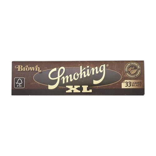 Smoking Brown Rolling Paper XL Leaf Butler