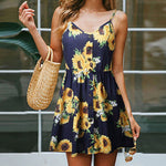 Sunflower Princess Dress