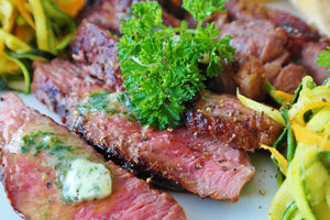 "Flat-Iron Steak ""Black Pepper"""