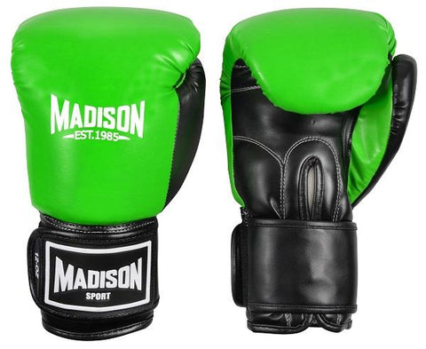 Contender Boxing Gloves - Green