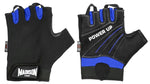 Power Up Mens Fitness Gloves - Blue Small