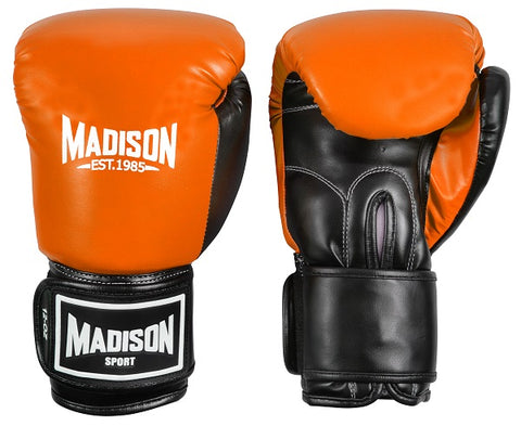 Contender Boxing Gloves - Orange