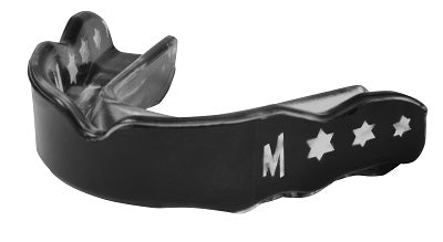 Mission Mouthguard - Black/Clear
