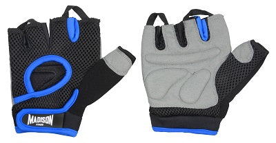 Motivate Mens Fitness Gloves - Blue